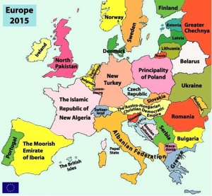 Europe in year 2015